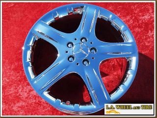 NEW 19 MERCEDES BENZ ML350 ML500 ML550 CHROME OEM WHEELS RIMS 65369