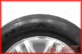 F150 EXPEDITION FX4 FX2 MACHINED OEM FACTORY WHEELS NEXEN TIRES 17 20