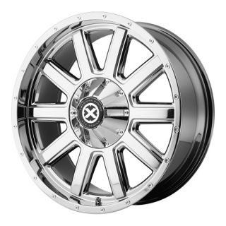 17X9 JEEP WRANGLER FORD F150 AX805 FORCE WHEELS,, CHROME AMERICAN