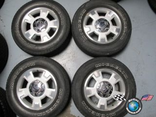 03 12 Ford F150 Factory 17 Wheels Tires Rims 3781 Michelin 255 65 17