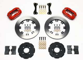 Wilwood Disc Brake Kit Honda Civic Coupe HB Sedan 6163 10209 12 Red