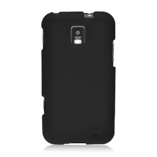 For Samsung Focus s i937 Soft Silicone Skin Protector Cover Case Black