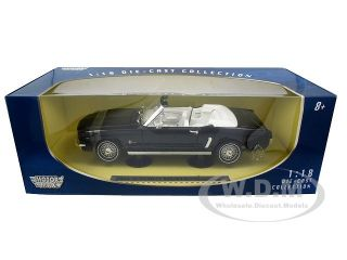 Brand new 118 scale diecast car model of 1964 1/2 Ford Mustang