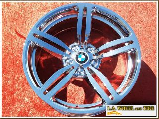 New 19 BMW M6 650i Style 167 OEM Chrome Wheels Rims EXCHANGE 59544