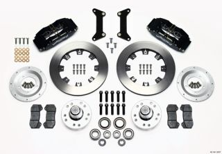 Wilwood Disc Brake Kit Front 80 87 GM G Body 12 Rotors 6 Piston Black
