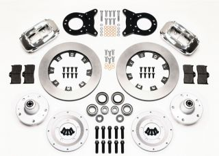 Wilwood Disc Brake Kit Front 65 69 Ford Mercury 12 Rotors Polished