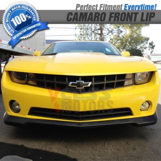 Chevy Camaro 2010 2012 RS Only Front Bumper Lip Spoiler Bodykit Poly