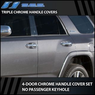2010 2013 Toyota 4Runner Chrome Door Handle Covers