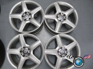 03 09 Mercedes E E550 Factory AMG 18 Wheels Rims 85011 W211