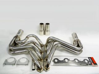 OBX Exhaust Header 87 96 Bronco F150 F250 5 8L V8 351