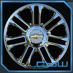 22 inch Chrome Wheels Rims Chevy Tahoe Yukon Silverado