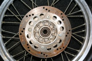 DR650 Dr 650 Rear Wheel Rim Hub Spokes Tire
