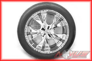 ESCALADE CHEVY SILVERADO TAHOE GMC YUKON DENALI WHEELS TIRES 20 18