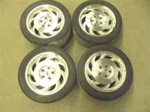 93 94 95 96 Chevy Corvette 17 Wheels Rims w Tires 4