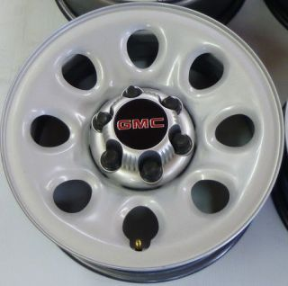 GMC Sierra Yukon 1500 17 Factory OEM Painted Steel Wheels Rims 6 lug