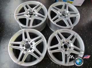 12 Mercedes E350 E550 Factory AMG 18 Wheels OEM Rims W207 W212 85150