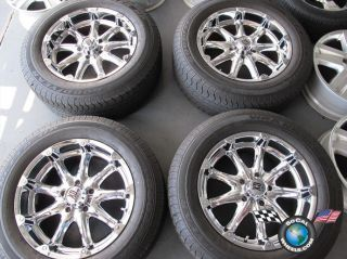 1500 Durango Used Chrome 20 Wheels Rims Tires KMC XD 275 60 20