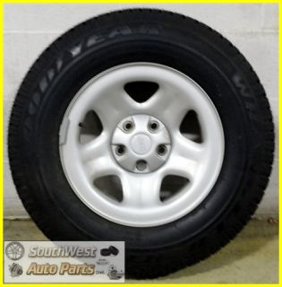 JEEP CHEROKEE 97 06 JEEP WRANGLER 15 STEEL WHEEL WITH 215/75/R15 TIRE