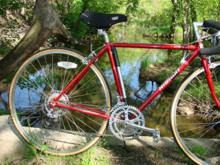 Nishiki Olympic 12 Speed Red Road Bike Book Bicycle 27