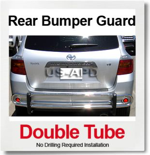 08 11 Toyota Highlander Rear Bumper Guard s S