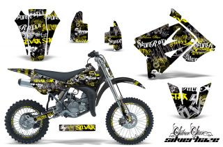 AMR Racing Off Road Number Plate Background Deco Wrap MX Suzuki RM 85