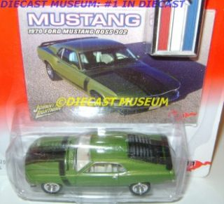 1970 70 Ford Boss 302 Mustang Diecast Johnny JL