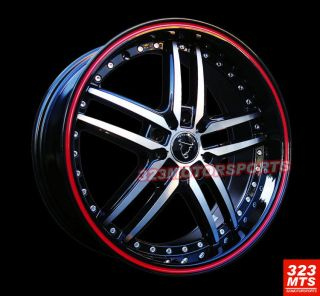 17 Toro TR9005 Wheels Rims Honda Subaru Ford Nissan Acura Wheels