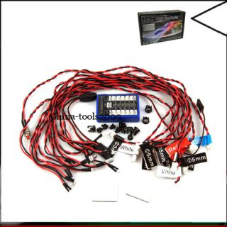 GT Power 12 LED Flashing Light System for RC Car Truck Cars Trucks