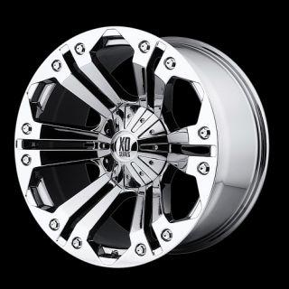 22 KMC XD Monster Rims Wheels GMC Chevy 2007 Nitto 24