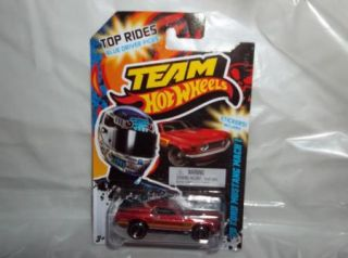 Mattel Team Hot Wheels 70 Ford Mustang Mach 1 with Sticker