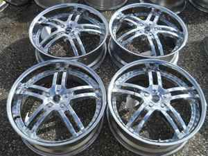Status 20 Chrome Alloy Wheel Rims Set for HHR LKQ