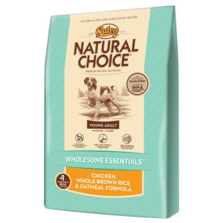 Nutro� Natural Choice� Young Adult Chicken, Whole Brown Rice & Oatmeal Formula Dog Food   Sale   Dog