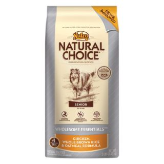 Nutro� Natural Choice� Senior Chicken, Whole Brown Rice & Oatmeal Formula Dog Food   Sale   Dog