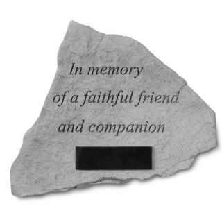Dog Memorial Stones � In Memory Of A FaithfulPersonalized Dog Memorial Stone