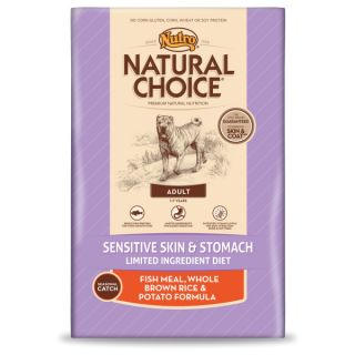 Nutro� Natural Choice� Adult Fish Meal, Whole Brown Rice & Potato Formula Dog Food   Dry Food   Food