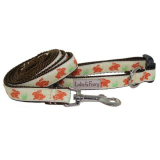 Lola & Foxy Nylon Dog Leashes   Easter Bunnies	   Leashes Nylon   Collars, Harnesses & Leashes