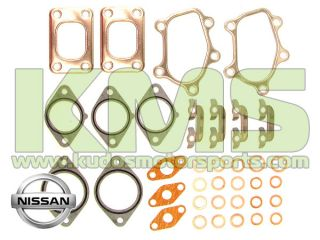 Turbo Gasket Kit   Genuine Nissan Skyline R32, R33 & R34 GTR RB26