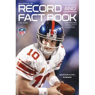 NFL Record & Fact Book 2012 The Official National Football League