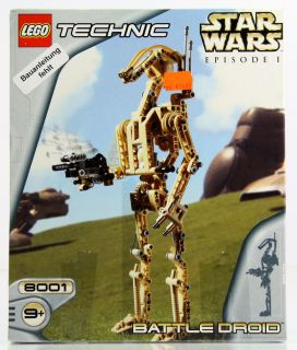Lego Star Wars Technik Battle Droid 8001 ohne Bauanleitung (c281