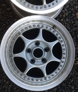 Enkei Racing S 7x15 Rims Wheels Alloys Felgen Alufelgen Räder