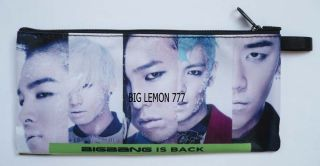 Bigbang BIG BANG Zipper Pen Pencil Case Bag Pouch P22