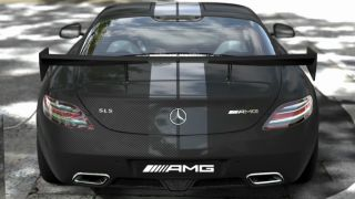 Mercedes Benz SLS AMG STEALTH Model (PS3, GT5, DLC)