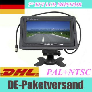 TFT LCD Color Screen Monitor rearview fr car kamera