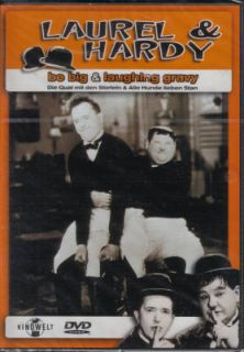 DVD LAUREL & HARDY   BE BIG & LAUGHING GRAVY # NEU 4006680017273