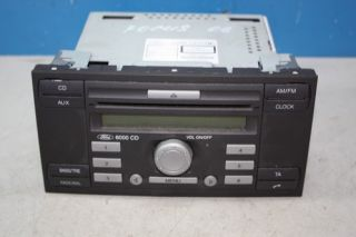 Ford Focus 2 Bj.06 Radio 6000 CD 6S6118C815AF DEFEKT