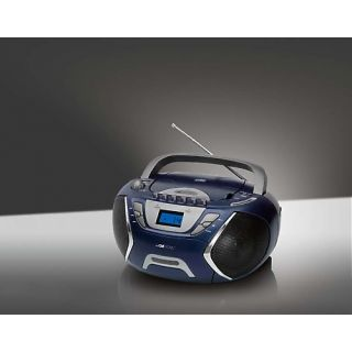 Clatronic Stereoradio Radiorecorder CD Player Radio SRR 828 blau