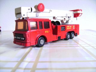 Matchbox K 39 Snorkel Fire Engine 1979