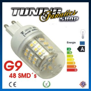 10x 48SMD High Power G9 MINI SPOT LED LAMPE ENERGIESPARLAMPE BIRNE