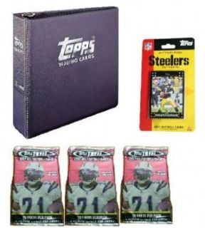 Pittsburgh Steelers 2007 Topps NFL Team Gift Set Sports