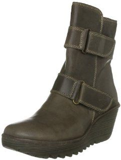 FLY London Womens Yaki Pull On Boot Shoes